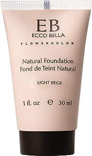 product image for Ecco Bella Plant-Based Vegan Foundation (Light Beige)