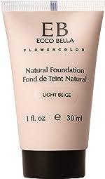 Ecco Bella Plant-Based Vegan Foundation (Light Beige)