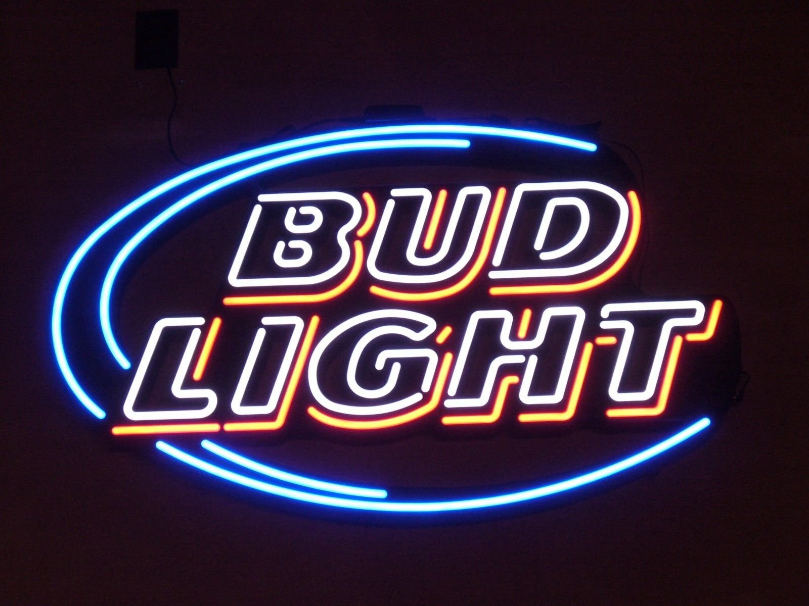 Desung New 20''x16'' Bud-Light Neon Sign (Multiple Sizes Available) Man Cave Signs Sports Bar Pub Beer Neon Lights Lamp Glass Neon Light CX228