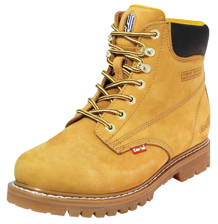 Cactus Work Boots メンズ B004XUGQ2O  タン 9.5 D(M) US