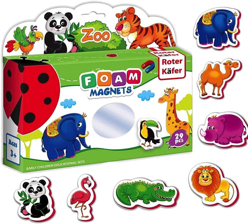 jouets pour tout pe ... Aimants Frigo Enfants animaux de la jungle 29 pièces