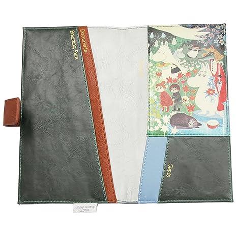 Disaster Designs - Cartera para pasaporte verde verde