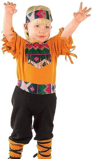 FIORI PAOLO - indianina disfraz niño Niño 3-4 anni multicolor ...