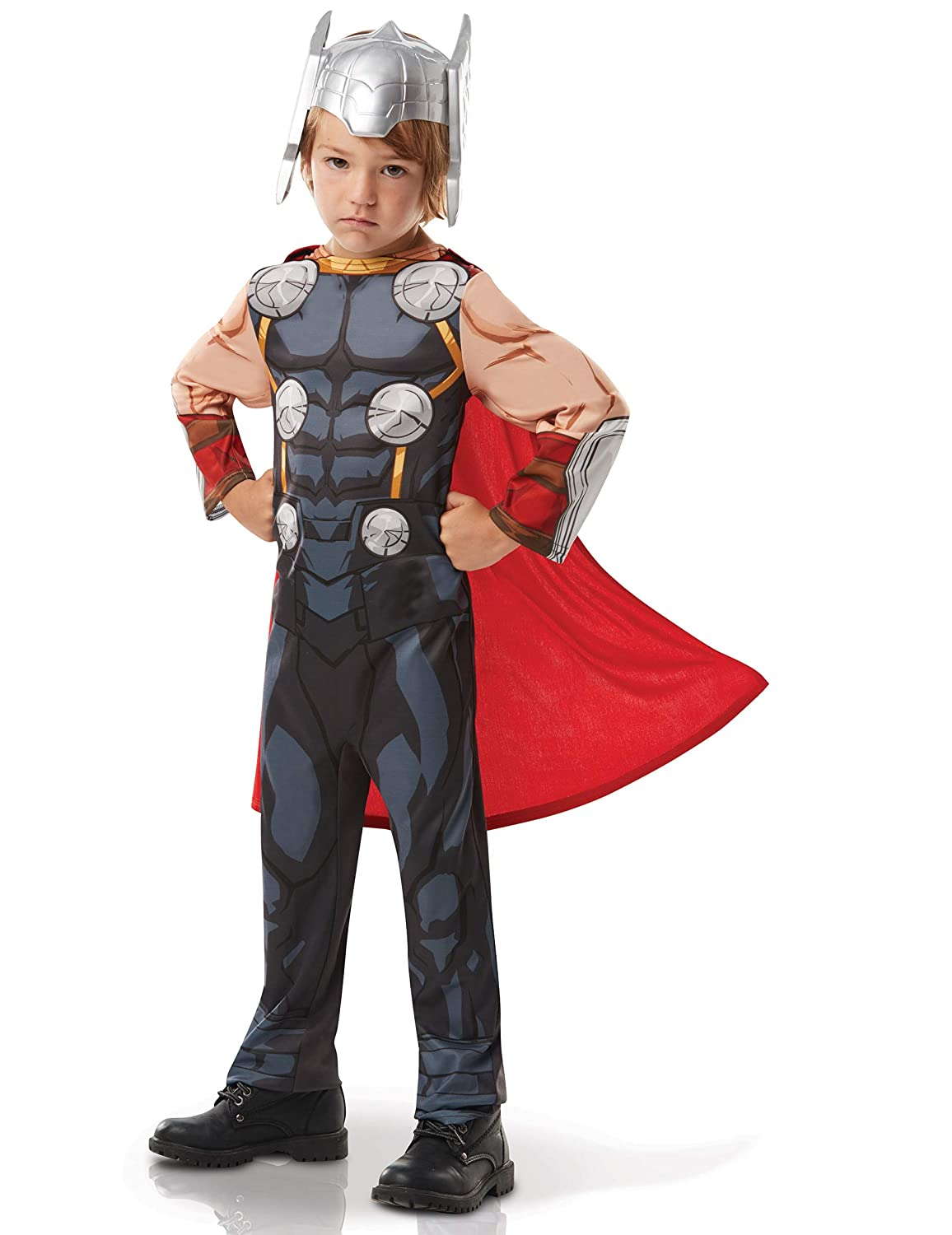 Rubies 510563TODD Marvel Avengers Thor Classic - Disfraz infantil ...