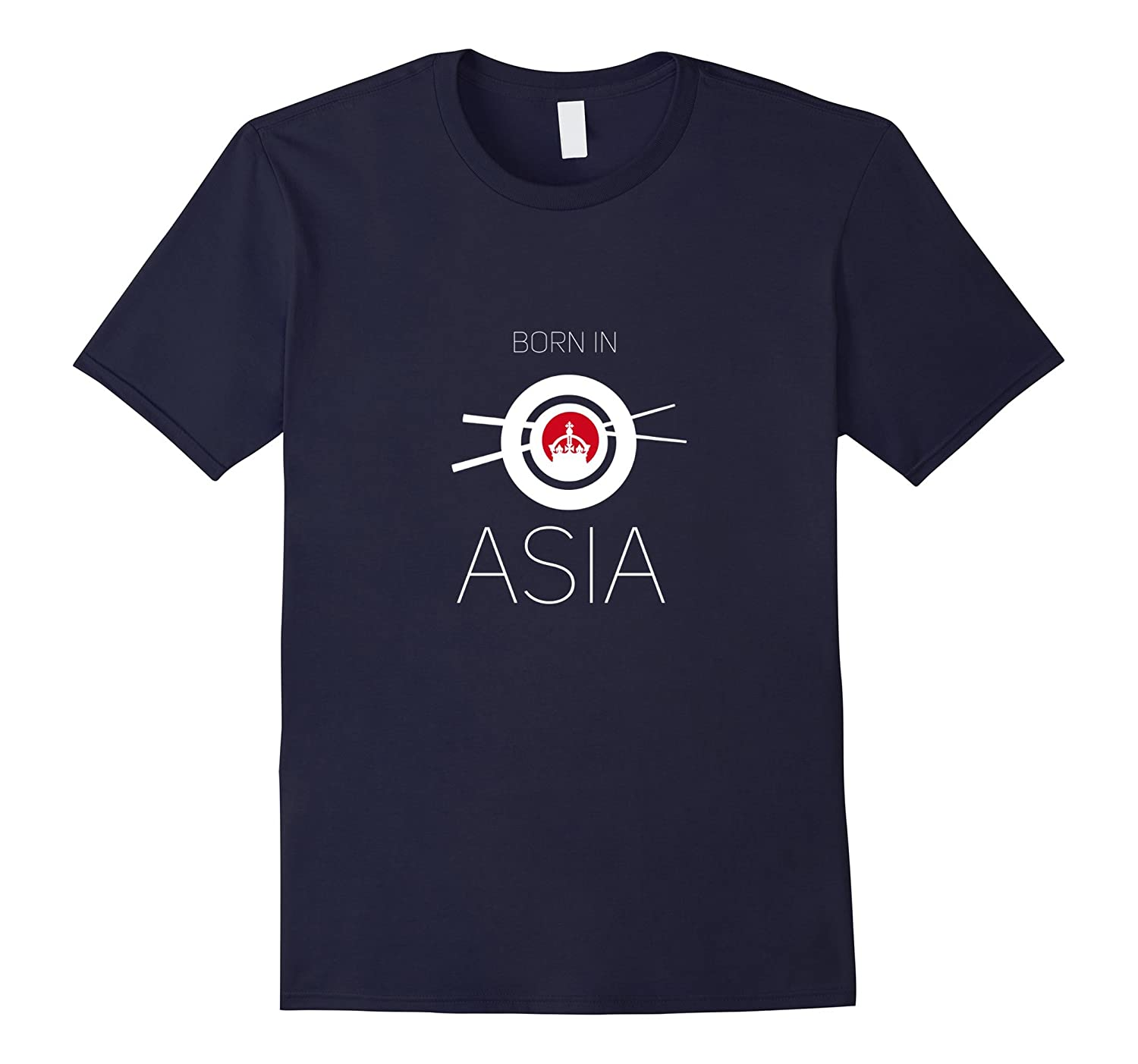 Asia T-shirt gift shirts Born in shirt diff. colours  size-BN