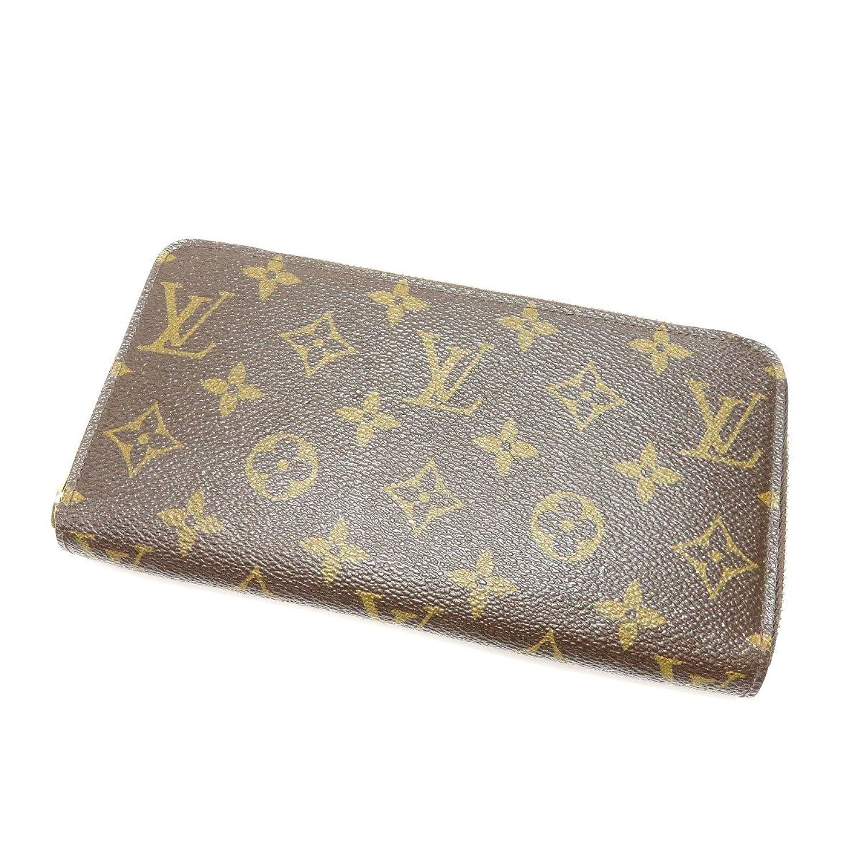 [ルイヴィトン]ジッピーウォレット 旧型 長財布(小銭入れあり) モノグラムキャンバス レディース (中古) B07DBWKS9P