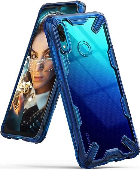 Ringke Fusion-X Diseñado para Funda Huawei P Smart 2019, PC Transparente + Parachoque TPU, Diseño Moderno Carcasa Antigolpes Huawei P Smart 2019 (6.21 Pulgadas): Amazon.es: Electrónica