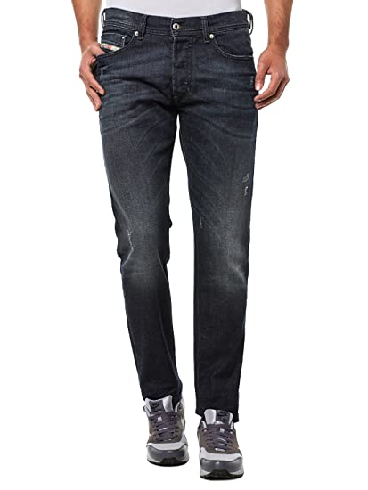 bc4c5102 Diesel Tepphar 0842R_Stretch Men's Jeans Trousers Slim Carrot: Amazon.co.uk:  Clothing