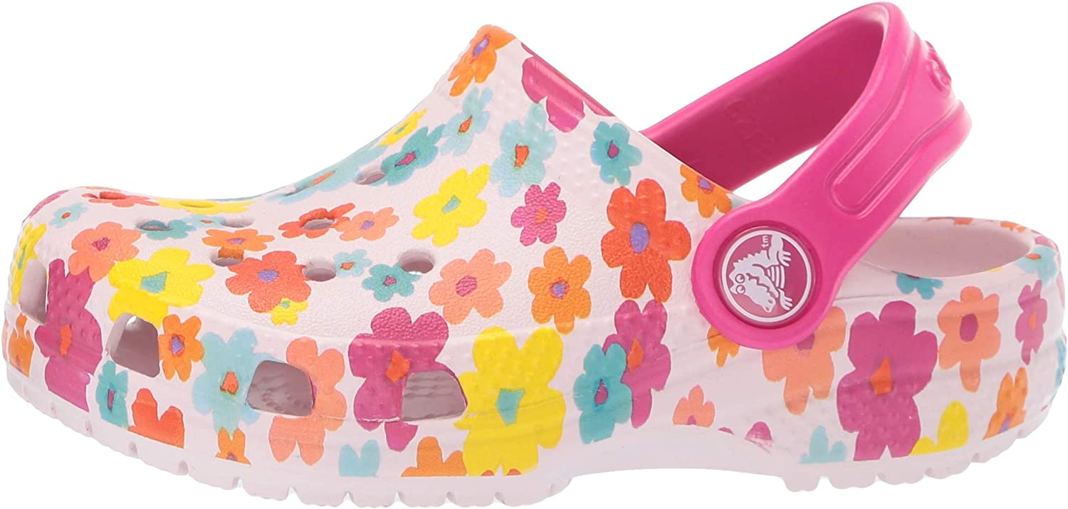 Boys Slip On Water Shoe for Toddlers Girls Lightweight Crocs Kids Classic Graphic Clog