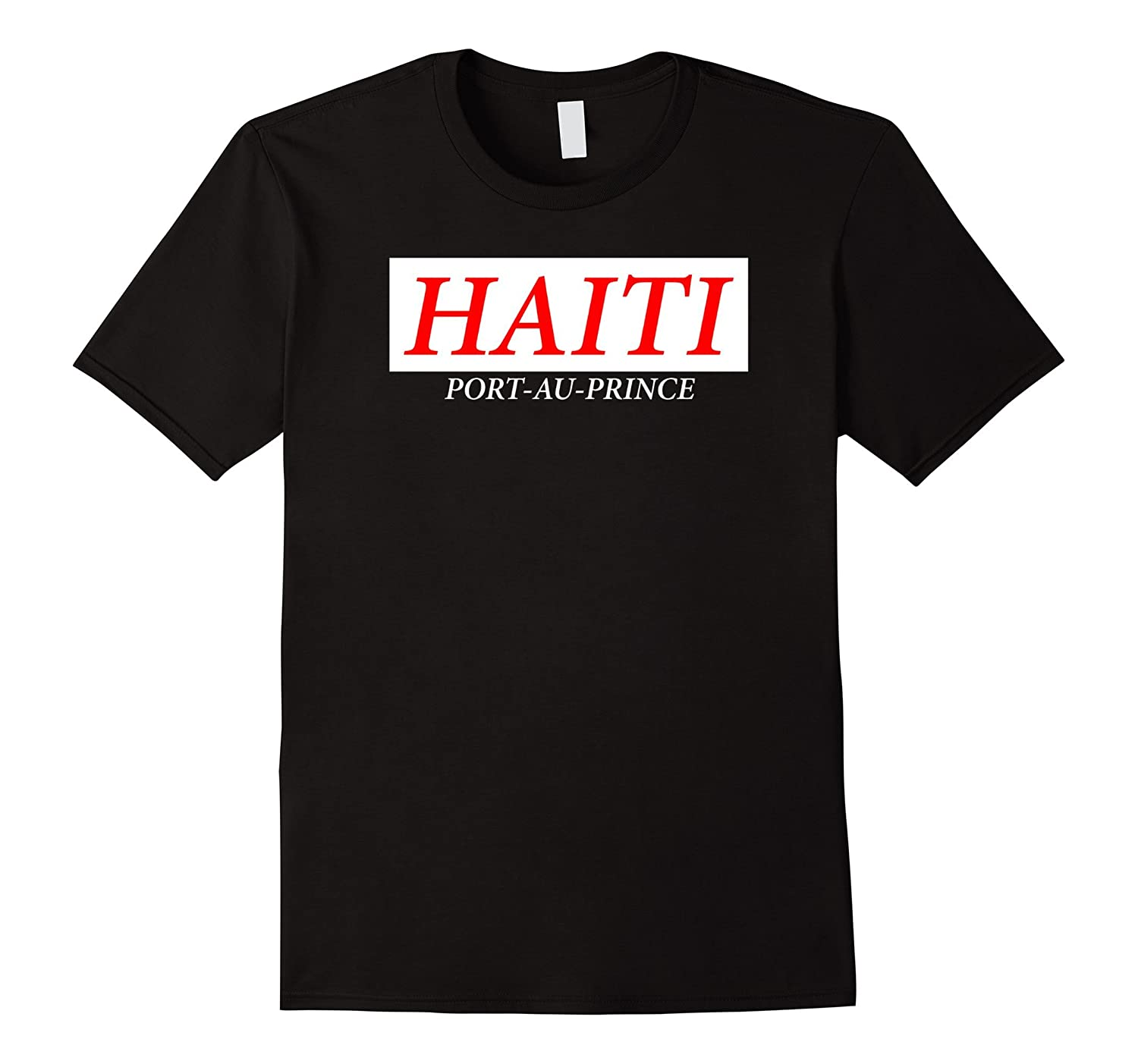 HAITI Port-Au-Prince T-shirt-CD