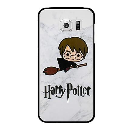 EJC Avenue - Carcasa rígida de plástico para Samsung Galaxy Harry Potter Cartoon Samsung Galaxy S6 Edge (G925)