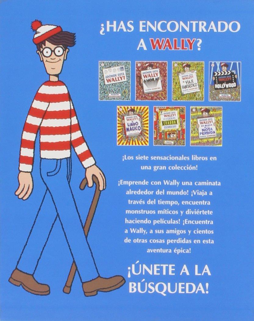 ¿Dónde está Wally? / Where's Wally?: La gran colección / The Solid Gold  Collection (Spanish Edition): Martin Handford: 9788416075126: Amazon.com:  Books