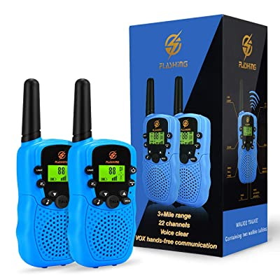 Dreamingbox Boy Toys Age 3-9, Long Range Walkie Talkies for Kids Birthday Gifts for 3-12 Year Old Girls Outdoor Toys for 3-12 Year Old Boys Girls Christmas New Gifts for Boys Age 3-12 Blue TGUSSDDJ02 : Sports & Outdoors [5Bkhe1201083]