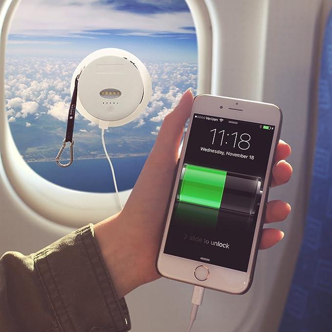 6000 Mah Solar Powered cargador de teléfono - Batería ...