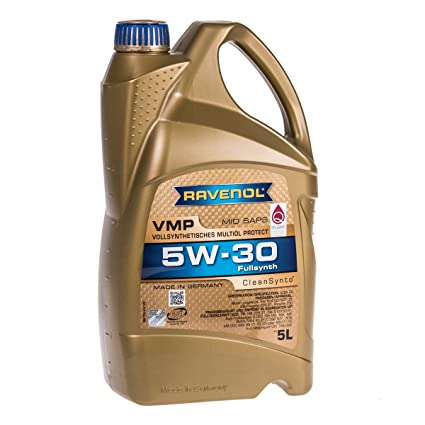 RAVENOL J1A1520 VMP 5W-30 Fully Synthetic Motor Oil (5 Liter)