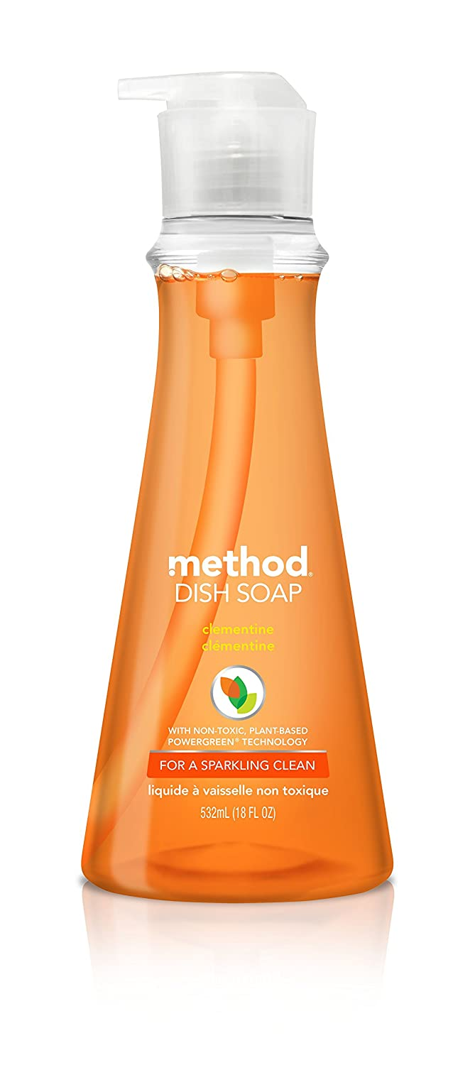 Method Dish Soap, Clementine, 18 Ounce