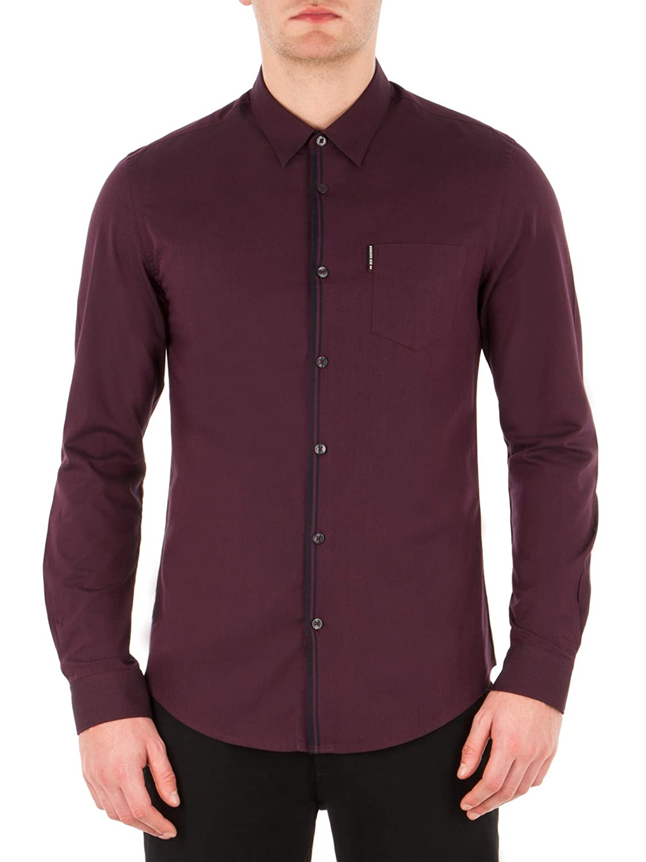 Ls Tonic Tipped Shirt - MA13601 Slim Fit (Soho Fit)