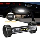 Niwaker UTV Interior Light Universal Roll Bar Mount for LED Light Interior Light Utility Roll Cage Light Courtesy…