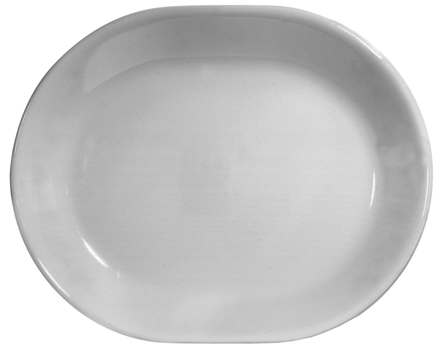 Corelle Livingware 12-1/4-Inch Serving Platter, Winter Frost White 6003110