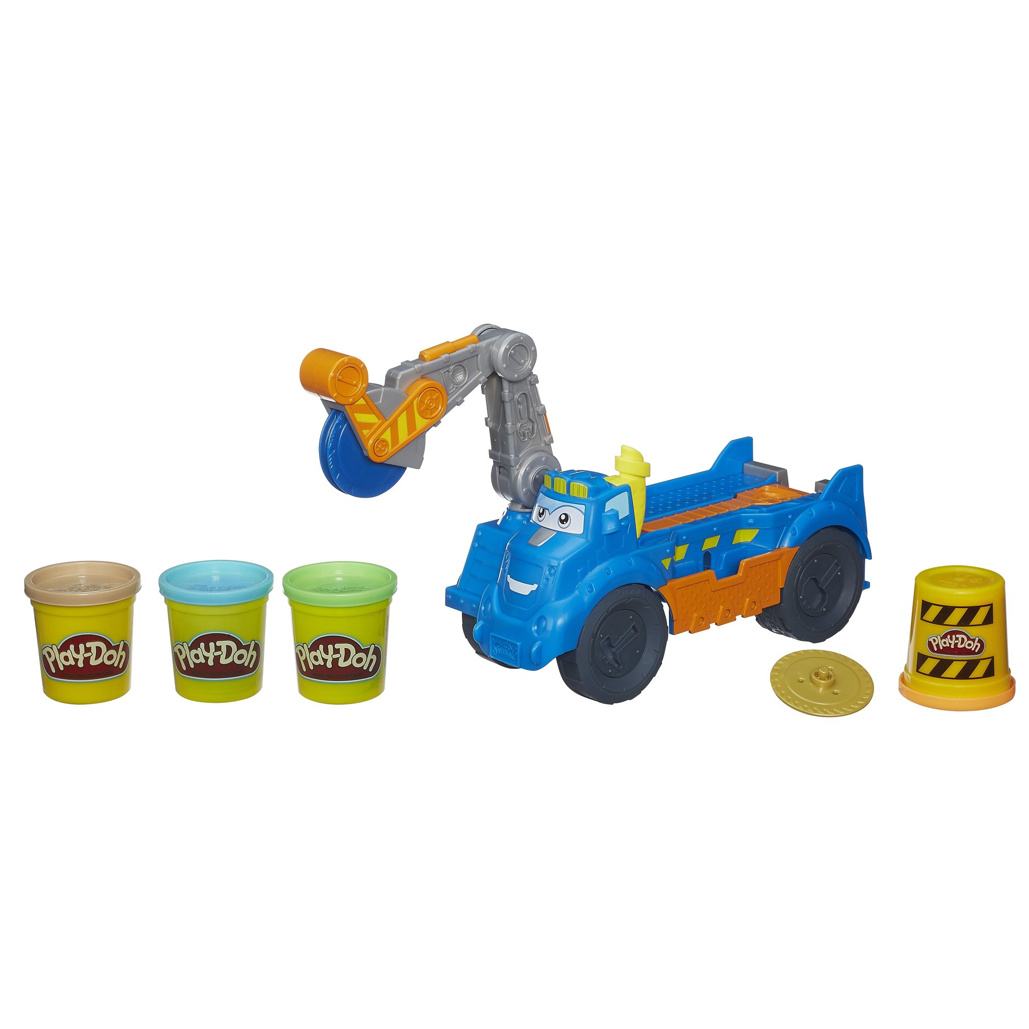 Play-Doh Diggin' Rigs Buzzsaw Playset, Construction Toy for Boys and Girls, Ages 3 and up (Amazon Exclusive)