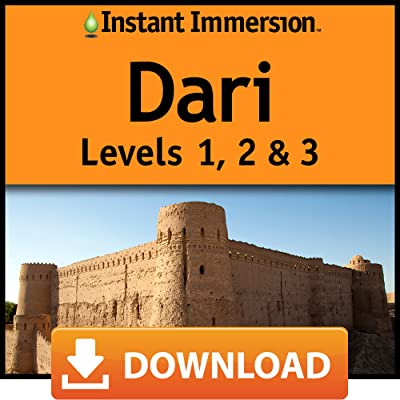 Instant Immersion Dari Levels 1,2 & 3 [Online Code]