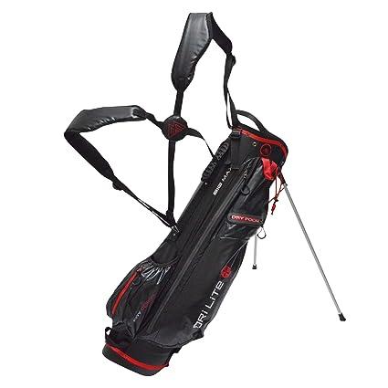 Big Max Golf Dri Lite 7 llevar bolsa de soporte (negro/rojo ...
