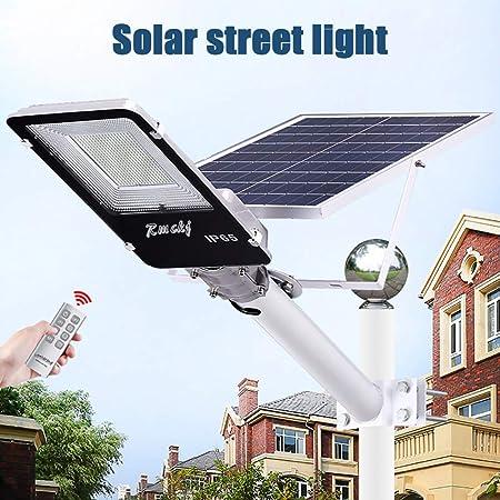 Farola Solar Luz Ultra Potente Farolas Solares Exterior Impermeable IP65 LED Luz Solar con Soporte Ajustable Y Control Remoto Solar Security Lights para Calle Patio Jardín Etc (1 Pack),20W: Amazon.es: Hogar