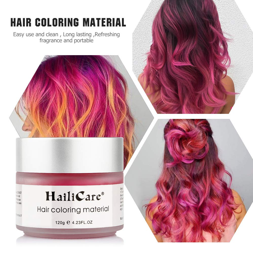 Amazon Com Hailicare Red Hair Wax 4 23 Oz Professional Hair