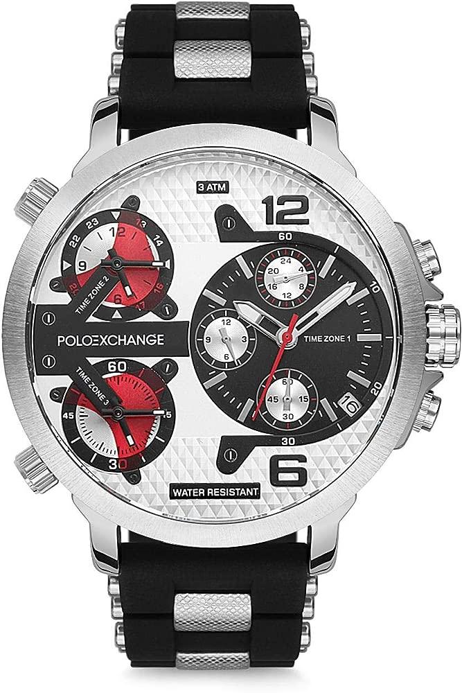 Polo Exchange PX0052-05 - Reloj de Pulsera para Hombre: Amazon.es ...