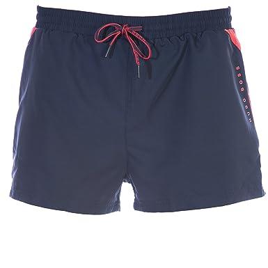 ce51a841fa Amazon.com: BOSS Mooneye Swim Short in Navy Grey XL: Clothing