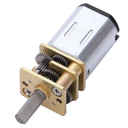 Semoic DC 12V 60RPM Motor de caja de cambios de soldadura de baja velocidad con diametro