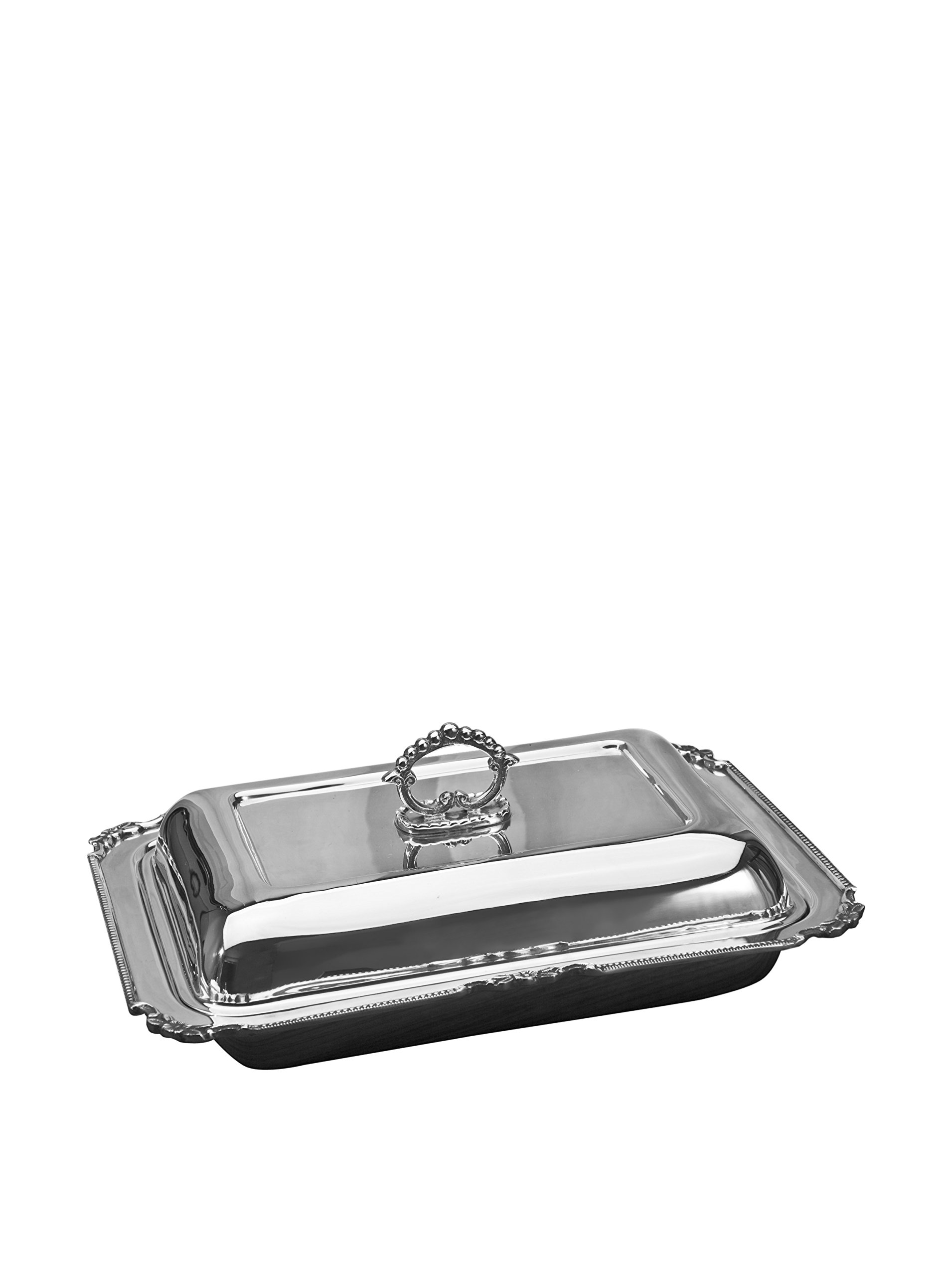 RECT SERVING DISH 12'' X 9'' - RECT COVERED DISH 12 X 9