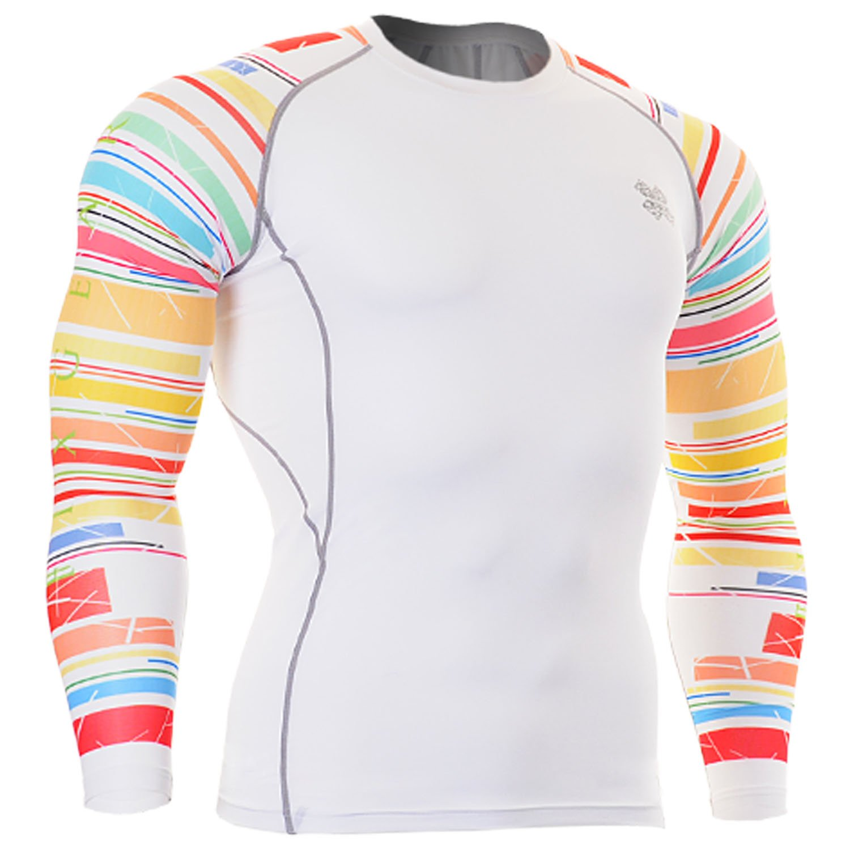 FIXGEAR Herren compression skin Funktions funktionsunterwäsche shirts  S~4XL