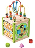 Manhattan Toy Storybook Castle Wooden Toddler Activity Center Toys Games