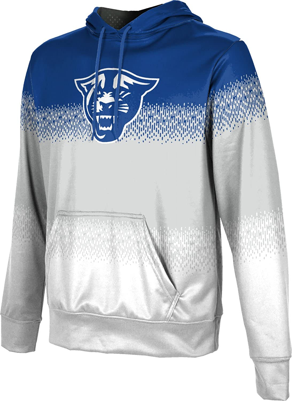 School Spirit Sweatshirt Game Time Georgia State University Womens Pullover Hoodie