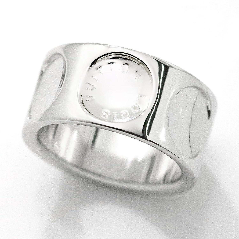 ルイ ヴィトン グランド バーグ アンプラント #51 リング K18WG 18金 750 LOUIS VUITTON 指輪 【中古】 90048157 B07CPMLW35