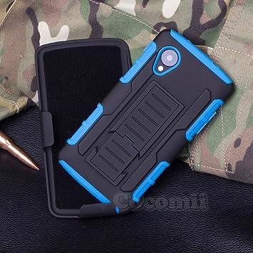 Cocomii Robot Armor LG Nexus 5 Funda NUEVO [Robusto] Superior Funda Clip Para Cinturón Soporte Antichoque ...