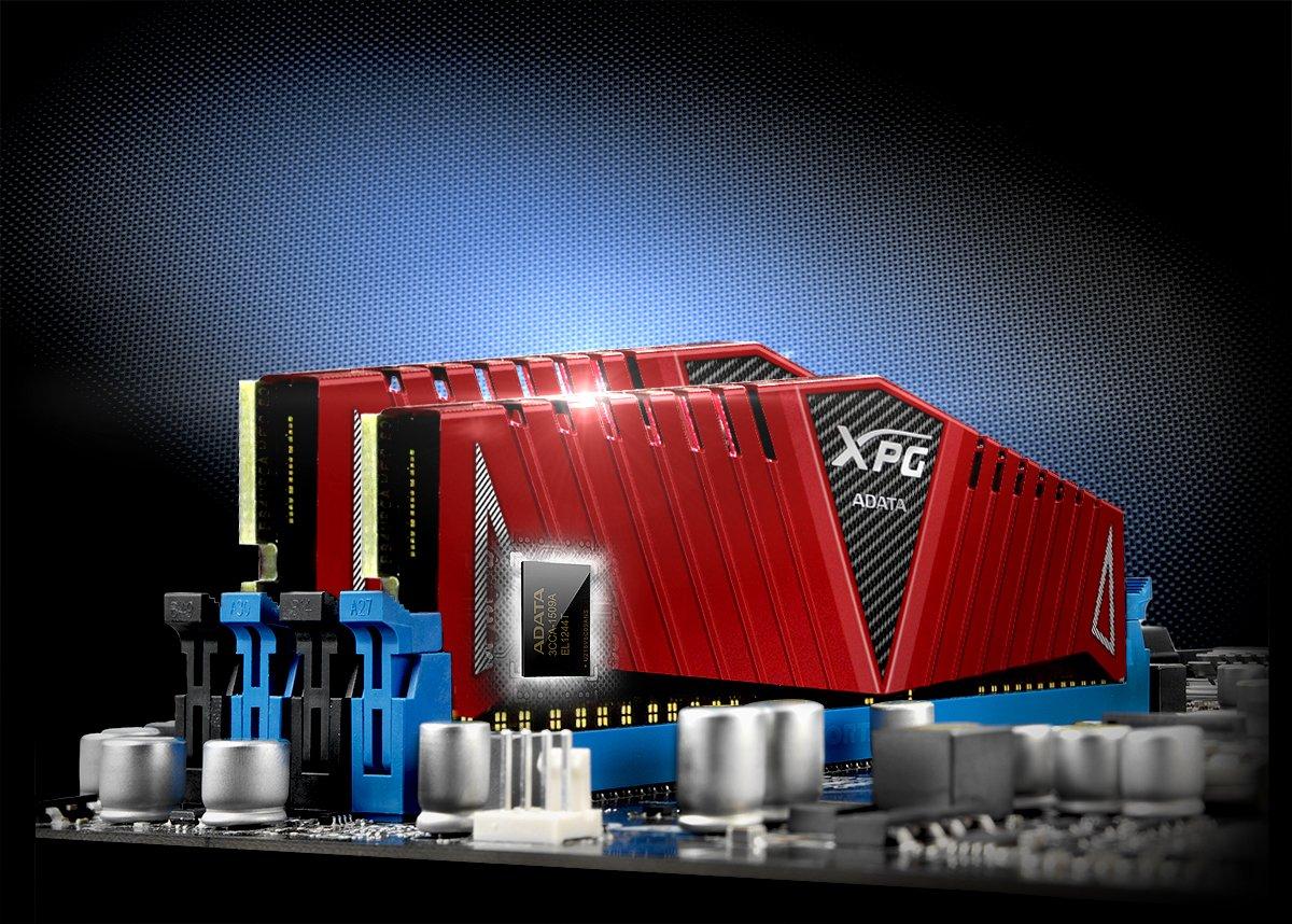 PC4//–/24000 ADATA AX4/u300038g16-DRZ Z1/DDR4/3000/MHz rosso CL16/RAM da 16/GB 8gbx2