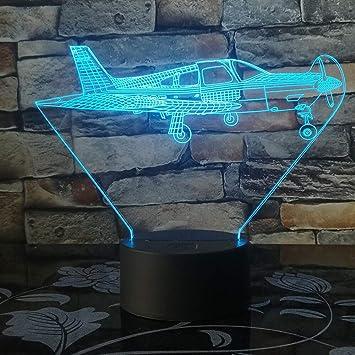 Avión de Control Remoto Cambio de Color de la luz avión de Combate ...