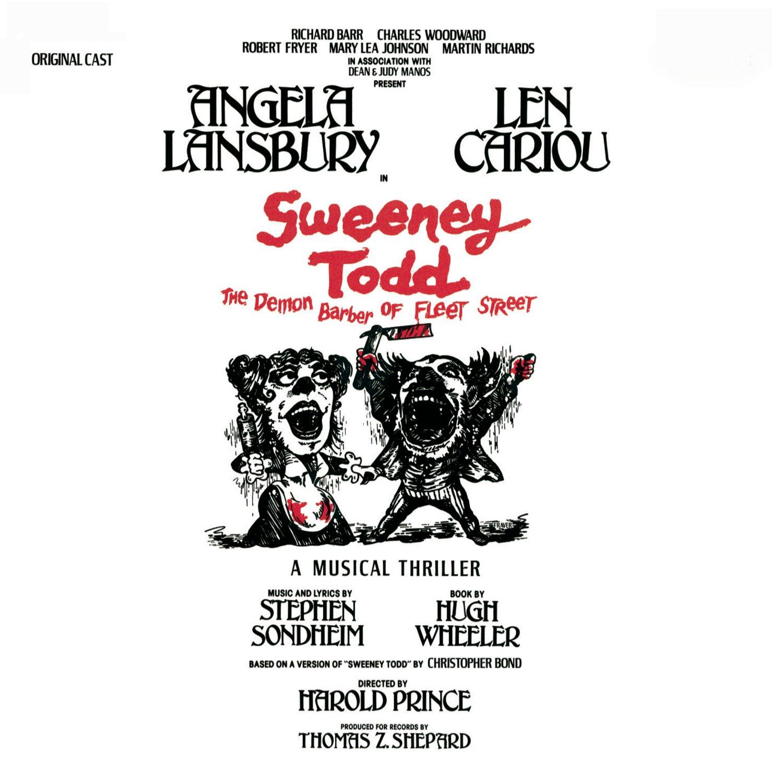 Stephen Sondheim, Len Cariou, Angela Lansbury - Sweeney Todd, the Demon  Barber of Fleet Street (1979 Original Broadway Cast) - Amazon.com Music