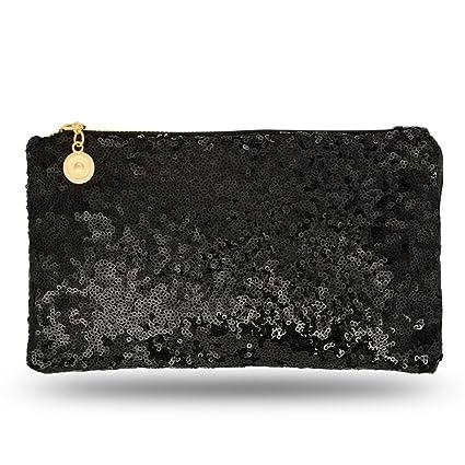 1bf3d3dfd102c Lady Donovan - Clutch - Edle Abendtasche für Damen und Mädchen -  Portemonnaie mit Reißverschluß -