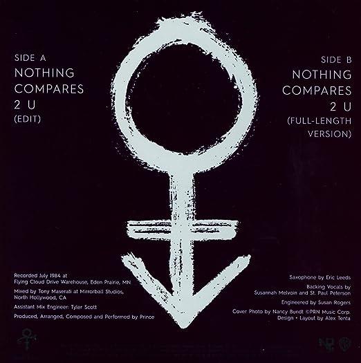Prince Nothing Compares 2 U 7 Vinyl Single Amazon Music