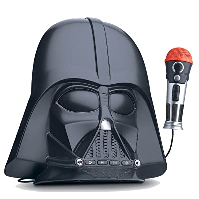 eKids Star Wars Darth Vader Voice Changing Boombox Connects to MP3 Player Darth Vader Phrases Sound Effects from The Star Wars Saga and More: Toys & Games