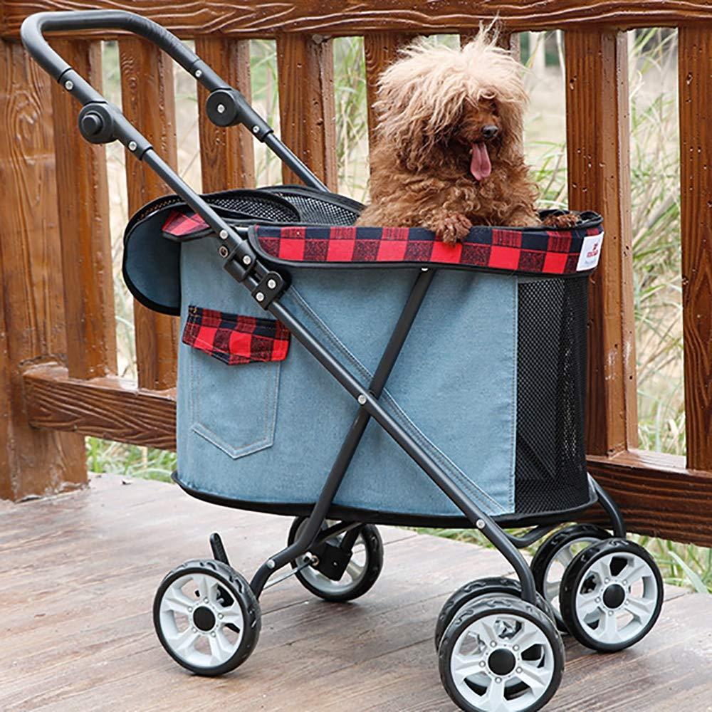 Dog Cat Pushchair Trolley, Carriers & Travel Products for Dogs,Dog Trolley Covers,Dog Trolley on Wheels,Dog Trolley Bike,Foldable