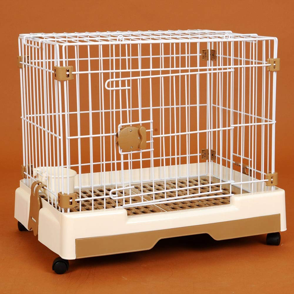 As-picture M As-picture M MISSKERVINFENDRIYUN Dog Cage Cat Cage Pet Fence Supplies Dog Cage (color, Size   M)