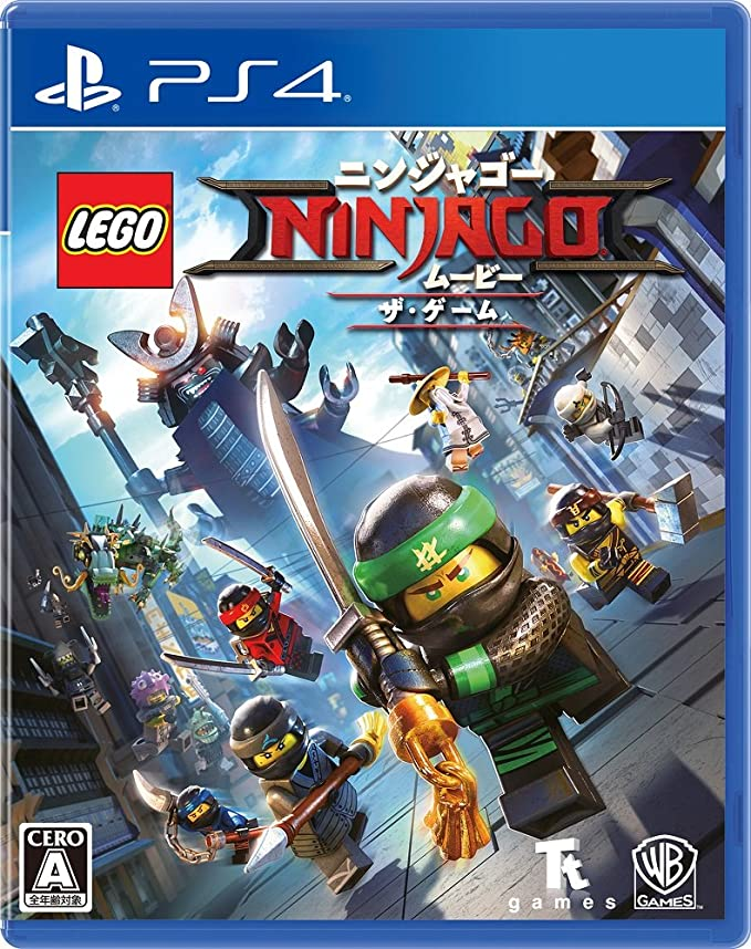 The LEGO NINJAGO Movie the Game SONY PS4 PLAYSTATION 4 JAPANESE Version: Amazon.es: Videojuegos