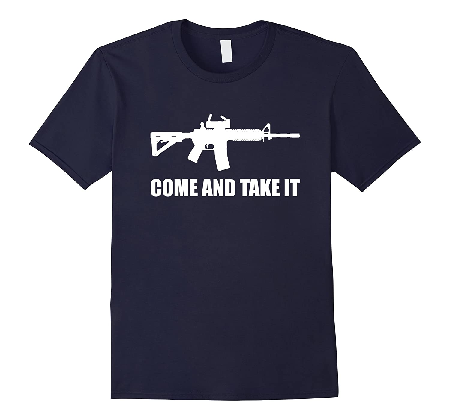 2nd Amendment AR-15 T-Shirt - Come and Take It Shirt-T-Shirt