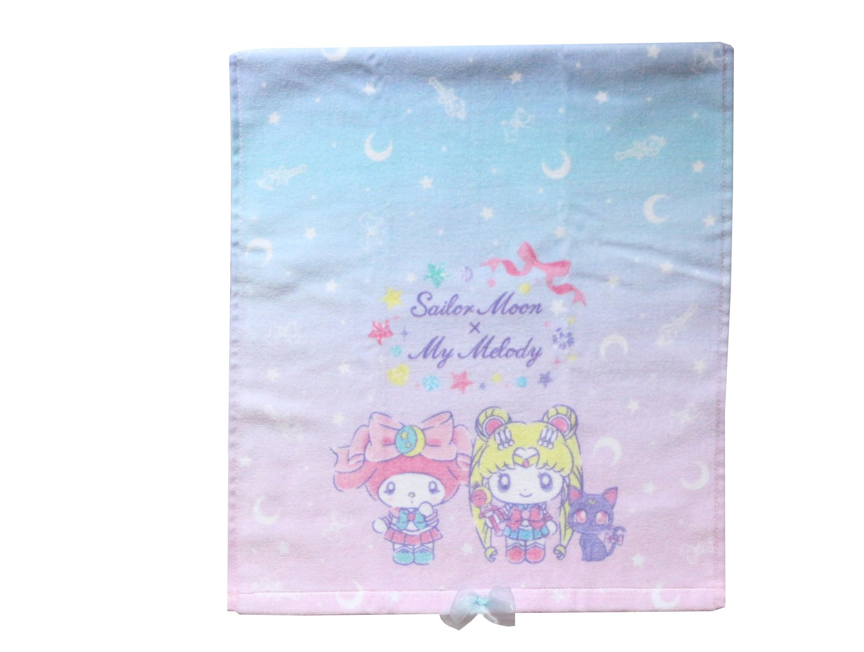 Sailor Moon x My Melody Sanrio Hand Towel Japan Limited Edition