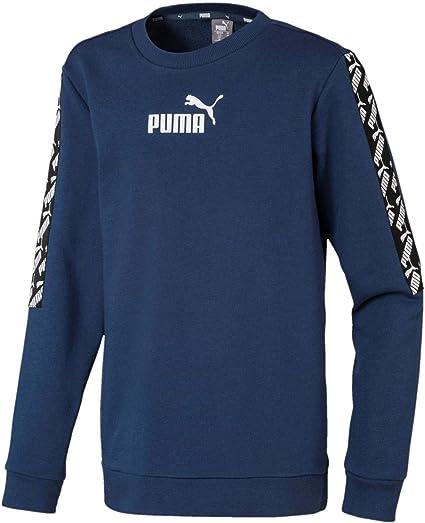 PUMA Jungen Pullover Amplified Crew Tr B: : Sport