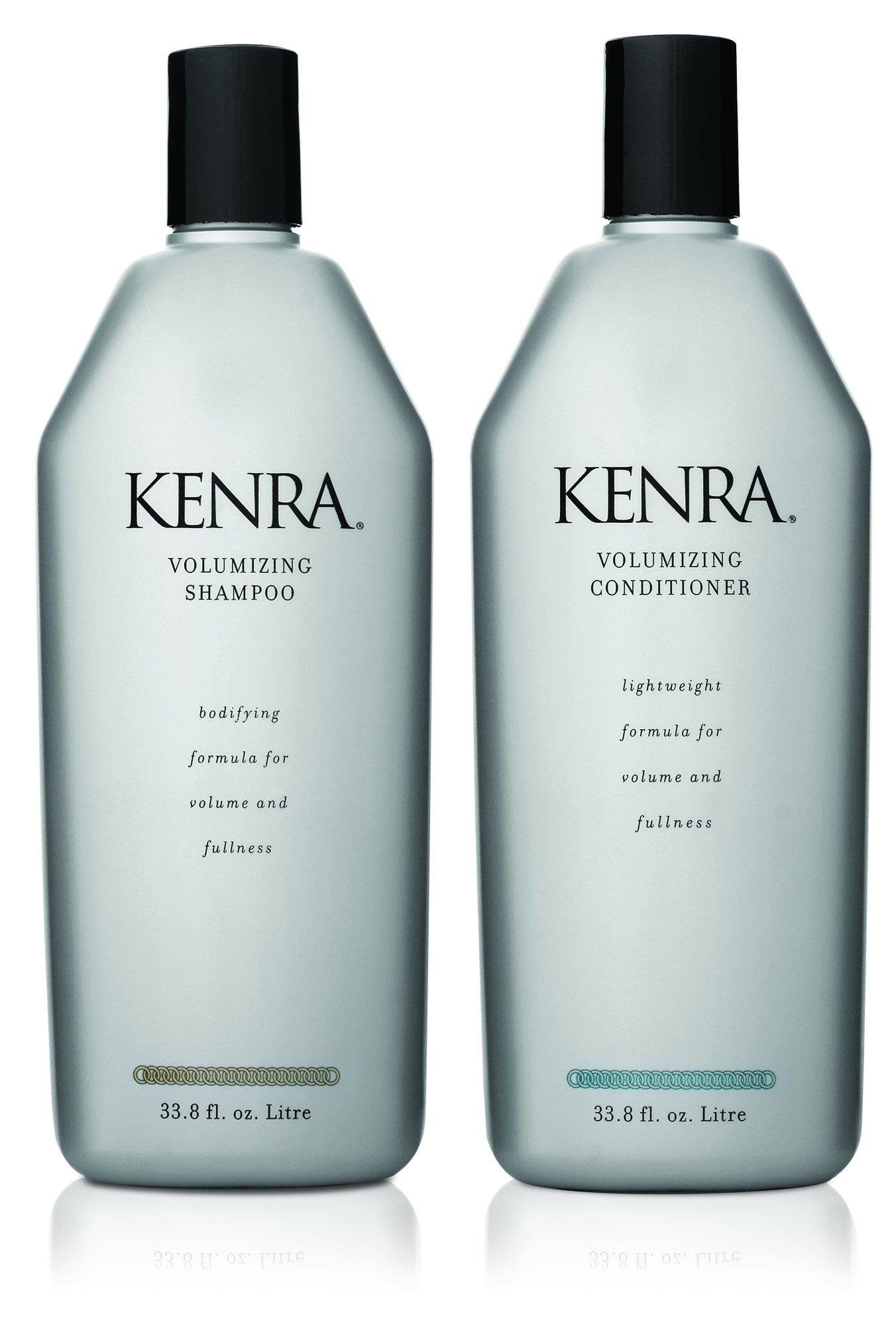 Kenra Volumizing Shampoo and Conditioner Set, 33.8-Fluid-Ounce